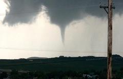 Tornado touchdown