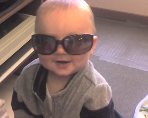 The future's so bright, I gotta wear shades!